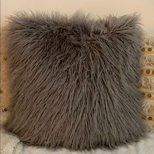 Large fluffy pillow